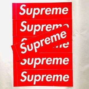 Supreme Bogo Stickers